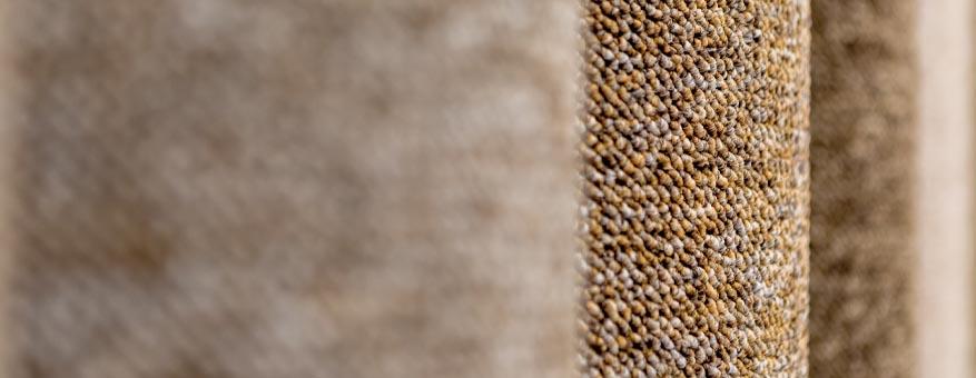 Neutral carpet rolls
