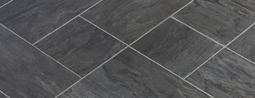 black vinyl luxury tiles