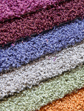 Carpet tiles colours