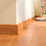 Laminate flooring colourful flower wellies