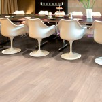 Laminate flooring dining room