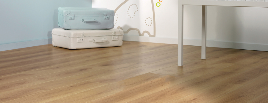 vinyl flooring in baby room