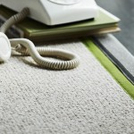 Coloured edge rug