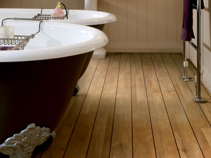 ... Vinyl Wood Floor Bathroom ...