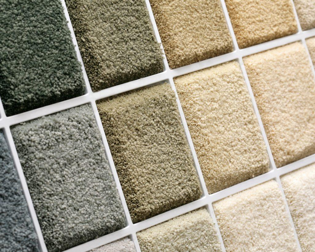 Small carpet samples